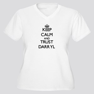 Keep Calm and TRUST Darryl Plus Size T-Shirt
