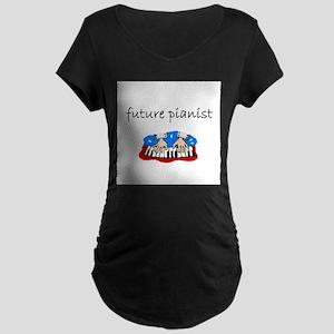 future pianist Maternity T-Shirt