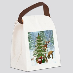 citf_shower_curtain Canvas Lunch Bag