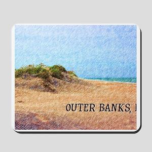 Outer Banks NC Beach Dune Mousepad