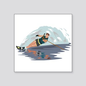 Water Skiing Sticker