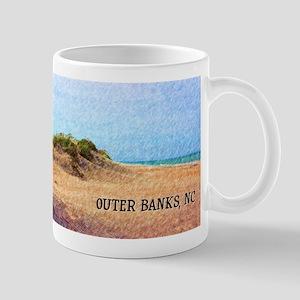 Outer Banks NC Beach Dune Mugs