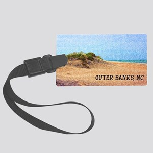 Outer Banks NC Beach Dune Large Luggage Tag