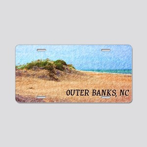 Outer Banks NC Beach Dune Aluminum License Plate