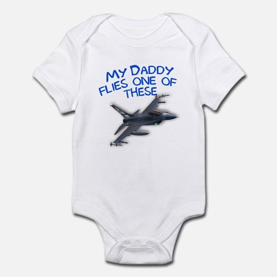 my daddy flies one of these Infant Bodysuit
