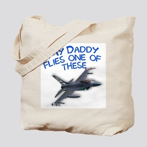 my daddy flies one of these Tote Bag