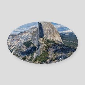 Helaines Yosemite Oval Car Magnet