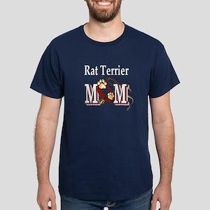 Rat Terrier Mom Dark T-Shirt
