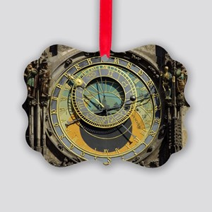 Prague Astronomy Clock Picture Ornament