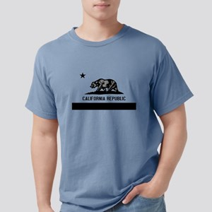 California Flag Black and Grey T-Shirt