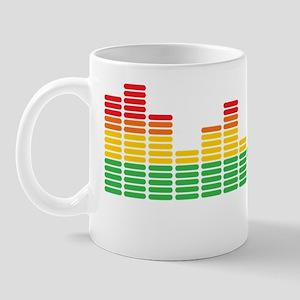 music equalizer Mug