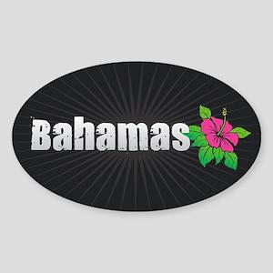 Bahamas Hibiscus Sticker