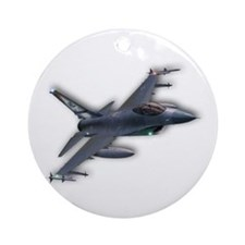 F-16 C Ornament (Round)