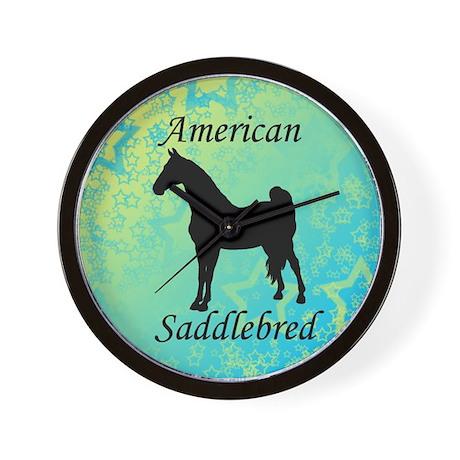 American Saddlebred Wall Clock