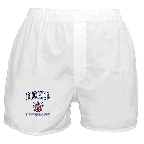 BICKEL University Boxer Shorts