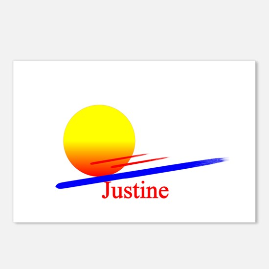 Justine Postcards (Package of 8)