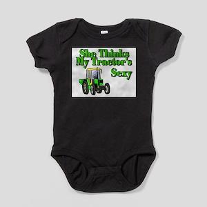 She Thinks My Tractors Sexy Infant Bodysuit Body S