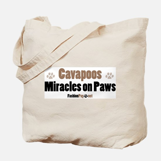 Cavapoo dog Tote Bag