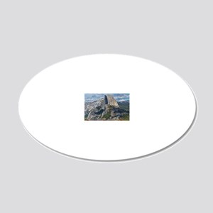 Helaines Yosemite 20x12 Oval Wall Decal