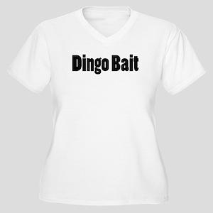 Dingo Bait Women's Plus Size V-Neck T-Shirt