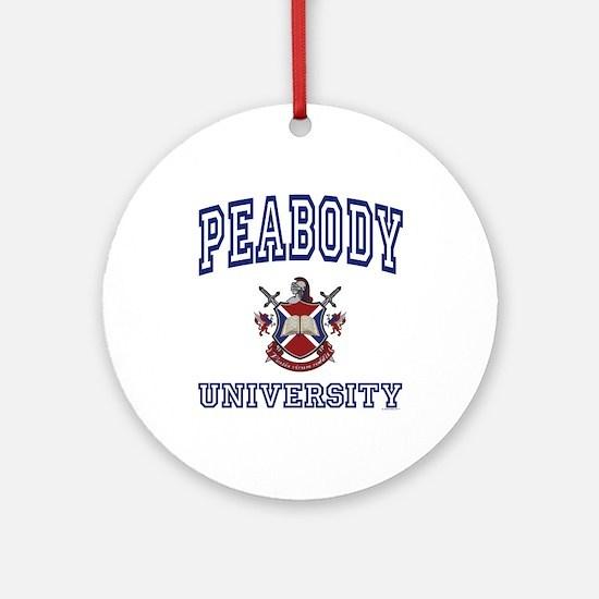 PEABODY University Ornament (Round)