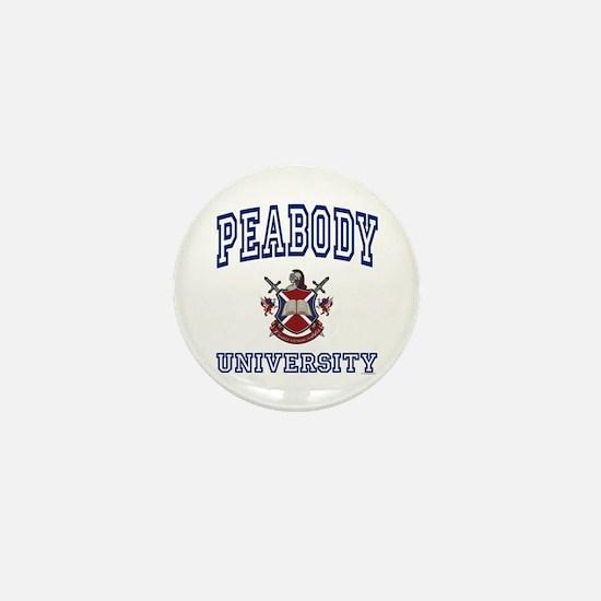 PEABODY University Mini Button
