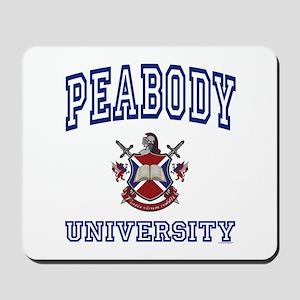 PEABODY University Mousepad
