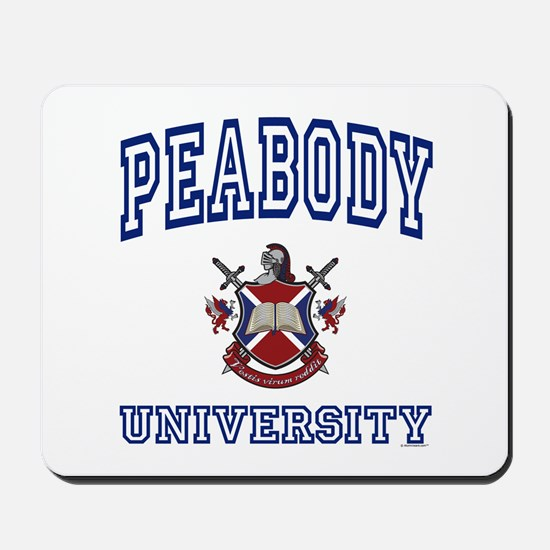 PEABODY University Mousepad
