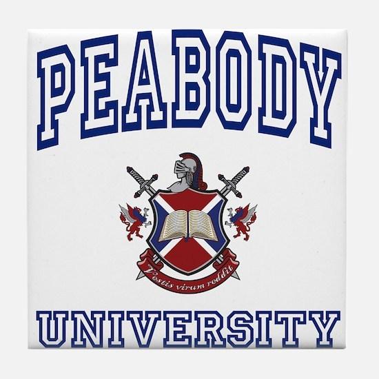 PEABODY University Tile Coaster