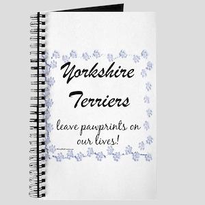 Yorkie Pawprint Journal