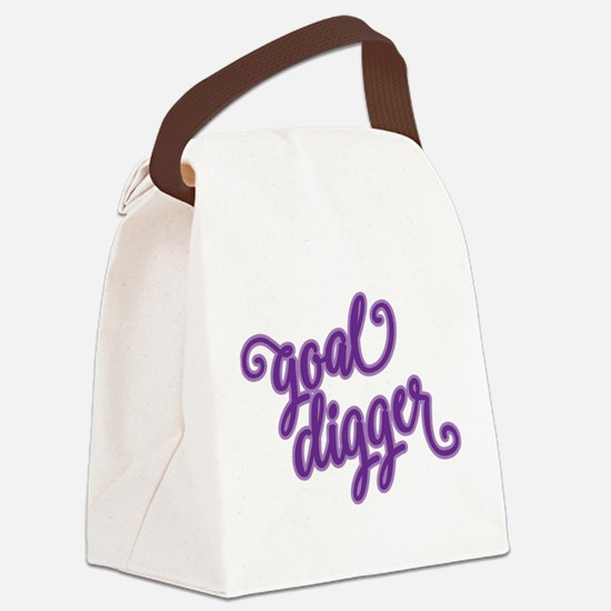 GOAL DIGGER Canvas Lunch Bag