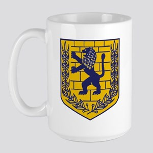 Lion of Judah Gold Large Mug