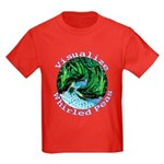 Visualize Whirled Peas Kids Dark T-Shirt