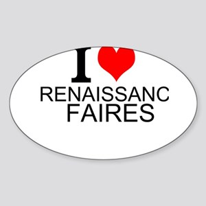 I Love Renaissance Faires Sticker