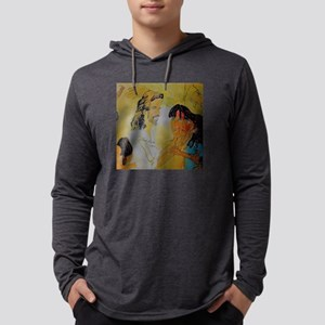 Jesus and his children Long Sleeve T-Shirt