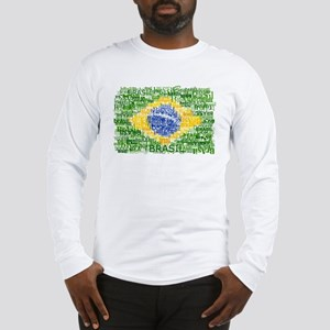 Textual Brasil Long Sleeve T-Shirt