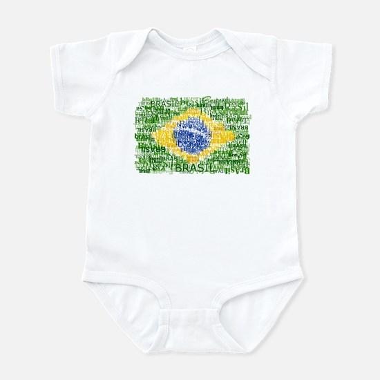 Textual Brasil Infant Bodysuit