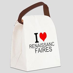 I Love Renaissance Faires Canvas Lunch Bag