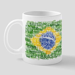 Textual Brasil Mug