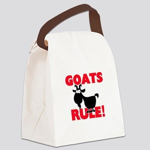 Goats Rule! Canvas Lunch Bag