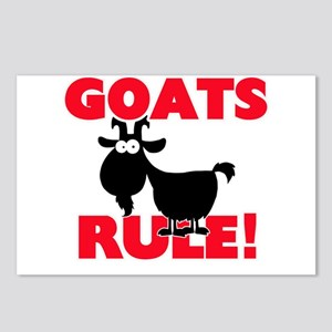 Goats Rule! Postcards (Package of 8)