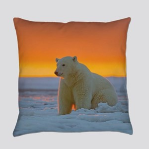 Polar Bear Everyday Pillow