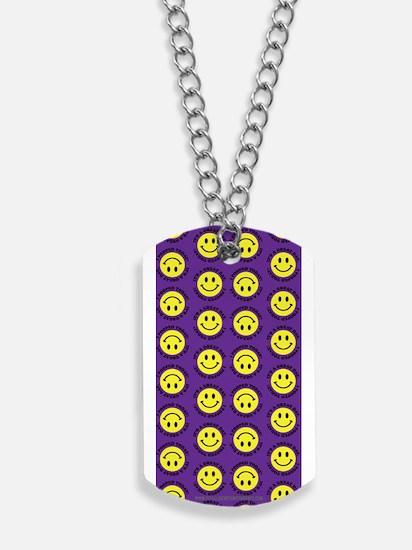 XX Purple Dog Tags