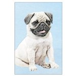 Pug Large Poster