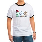 Christmas Eat Stay Play Ringer T