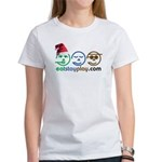 Christmas Eat Stay Play Women's T-Shirt