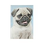 Pug Rectangle Magnet (10 pack)