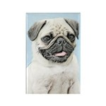 Pug Rectangle Magnet (100 pack)
