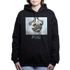 Pug Women's Hooded Sweatshirt