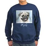 Pug Sweatshirt (dark)